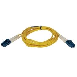 Duplex Single-mode 8.3/125 Fiber Patch Cable (LC/LC), 3M
