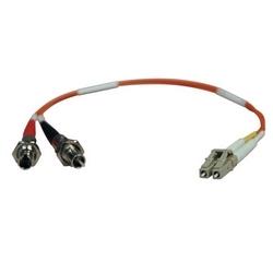 Duplex Multimode 62,5/125 fibre adaptateur (LC-ST M/F) 0,3 M (1 pi.)