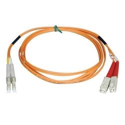 Duplex Multimode 50/125 Patch câble fibre (LC/SC), 1M (3 pi).