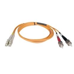 Duplex Multimode 50/125 Patch câble fibre (LC/ST), 2M (6 pi.)