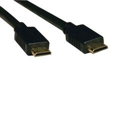 Câble Mini-HDMI haute vitesse, vidéo numérique avec Audio (M/M), 6-pi.