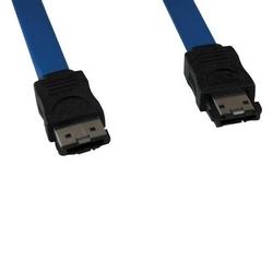 eSATA, SATA-II Signal externe câble blindé (7 broches/7 broches), 36 pouces.