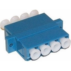 LC QUAD Adapter Blue Single-mode