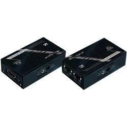 HDMI via Dual CAT5e/6 Extenders with ARC/IR/RS223 (TX & RX SET)