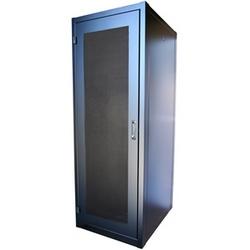 """EIE 19"""" liguer 30Wx36Dx83H armoire serveur avec / perforé portes avant et arrière, pas les côtés, Cage écrou matériel montage noir 2U d'Angles (44Pr)"""
