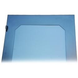 Fumé porte acrylique pour 30W X 83H Frame, noir