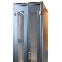 Double porte perforée pour 30W X 83H Frame, noir