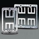 C0224-CP 1-Gang Wallplate Mounting Bracket, 10-Pack