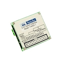 Omni-Bus 6 Channel Module connecte, commutateurs de parti 3rd, Status LED