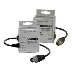 Miniature Ethernet over COAX Extender Remote Unit, External Power, CopperLine, Single Channel