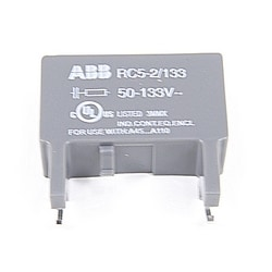 RC Coil Suppressor For Use WITH A45-A300 Contactor 50-133 V AC/DC