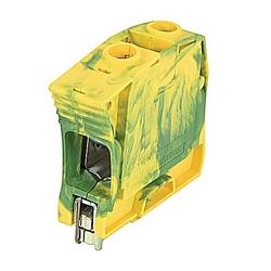 Zs35-PE Screw Clamp Terminal Block - Ground - Green/Yellow