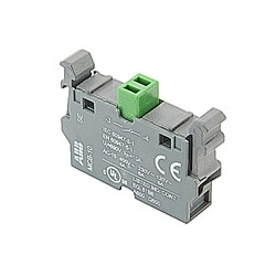 Single Contact Block N.O. Front Mount