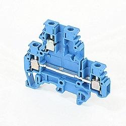 Double Deck Term Block - Blue M4/6.D2.1N Terminal