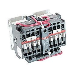 A16 Contactor, Reversing 3-P N/O, 120 V AC, NEMA 0, 16 A