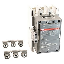 AC Non-Rev Contactor, IEC 3 NO, 120 V AC Coil, 1NO; 1NC AC1=300A A Series