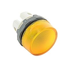 Voyant modulaire 22mm, lentille jaune