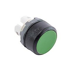 22mm Modular - Pushbuttons MOM, Flush Green