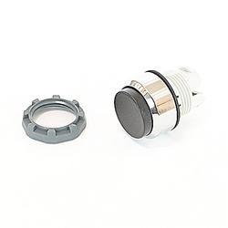 22mm modulaire - boutons poussoirs MOM, étendu, Chrome noir Bzl
