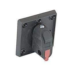 Selector Handle, Door Mt Switch Screw On OT16FT3-OT100FT3 Lock Black NEMA 1