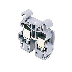 DIN 2 Standard Block Grey 22-12 AWG 250V 20A DR 4/6 50