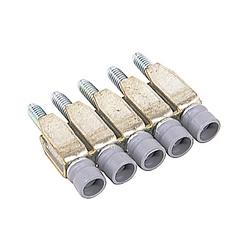 Assembled Jumper Bar BJMI6 For M 4/6 Blocks 5 Pole