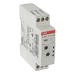 Minuterie électronique arrêt retardé avec 1C/O Contact 24-48V DC, 24-240V AC