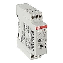 Minuterie électronique sur retardé avec 1C/O Contact 24-48V DC, 24-240V AC
