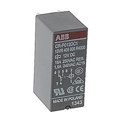 Relay, 1 C/O Contact, 250V, 8A, Control Voltage: 12 V DC