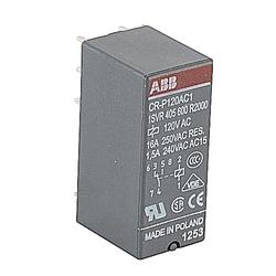 Relay, 1 C/O Contact, 250V, 8A, Control Voltage: 120 V AC