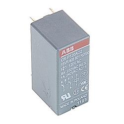 Relay, 2 C/O Contacts, 250V, 8A, Control Voltage: 120 V AC