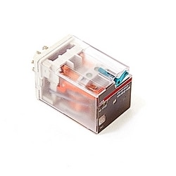 Interface Relay without LED 2 C/O Contacts 250V/10A 12 V DC Coil