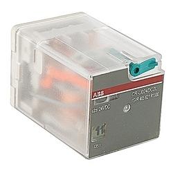 Interface relais avec LED 2 c/o Contacts 250V/10 a 24 V DC bobine