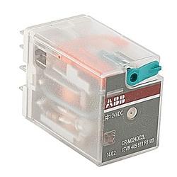 Relais enfichable, avec LED, 2 c/o Contacts, 250V, 12 a, 24 V DC bobine