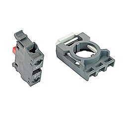 Contact Blocks With Holder Front Mount, Non Illuminated 3 NC