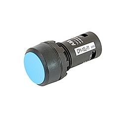 Non Illum, Flush Push Button Momentary, Flush 1NC 1NO Cont Blue