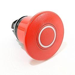 E Stop Push Button 60mm Diameter Pull Release Red Non Illuminated