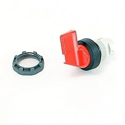 Selector Sw 2 Position B/C Maintained A&B Long Handle Red
