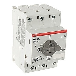 3 Ph Starter Rated Current: 2.4-4 Trip Class: 10