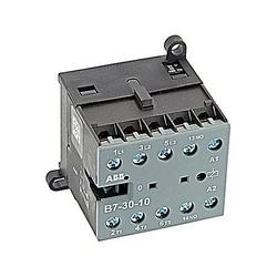 Mini contacteur, Rev Non, 3Pole, 16 a, 1NO Aux Cont 24 V AC bobine