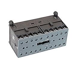 Mini Contactor, Mech Interlock, 12A, 2 NO Aux Cont, 110-127 V AC Coil