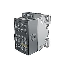 Non Rev Contactor, 25A, 3 Pole, NO 1 NC Aux Cont, 48-130 V AC/DC Coil