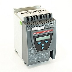 Soft Starter, PST Series Advanced, 42A Max, 208-600V, 100-250 V AC Coil