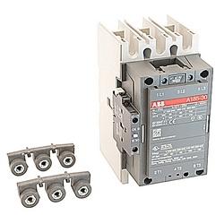 AC Non-Rev Contactor, IEC 3 NO, 24 V AC Coil 1NC 1NO AC1=275A A Series
