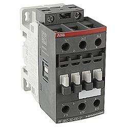 AFZ Contactor Non-Rev 3-Pole 3 NO, 20-60 V AC/DC Coil 1NC 1NO AC1=50A AFZ Series