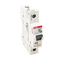 Mini disjoncteur, S200, 500 V DC, voyage K, pôle 1, 8 a