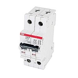 Mini disjoncteur, S200, 500 V DC, voyage K, pôle 2, 1 a