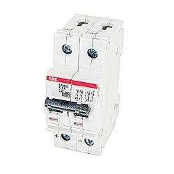 Mini disjoncteur, S200, 500 V DC, voyage K, pôle 2, 4 a