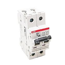 Mini disjoncteur, S200, 500 V DC, voyage K, pôle 2, 16 a