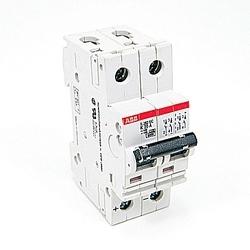 Mini disjoncteur, S200, 500 V DC, voyage K, pôle 2, 20 a